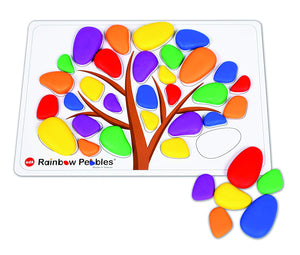 Rainbow Pebble Tree