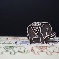 Elephant design on a Rosewood stamp