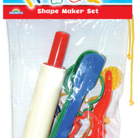 12 playdough tools in bag