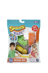 Skwooshi Rocket and Car Action Set