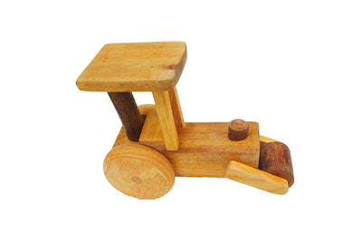 wooden steamroller toy