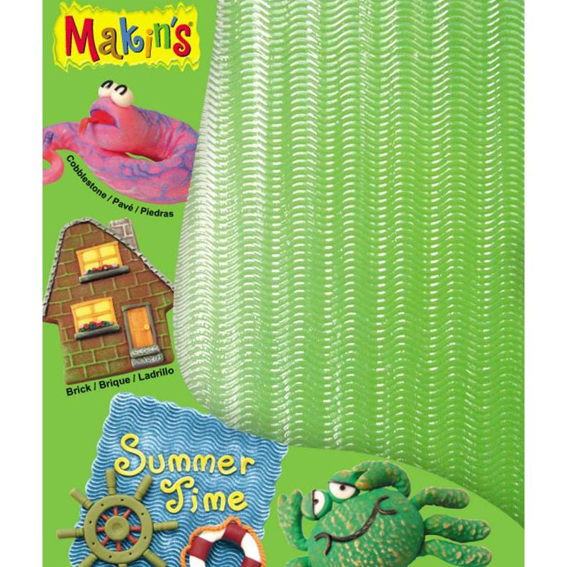 Makin's Clay Texture Sheet Set - Summer Time