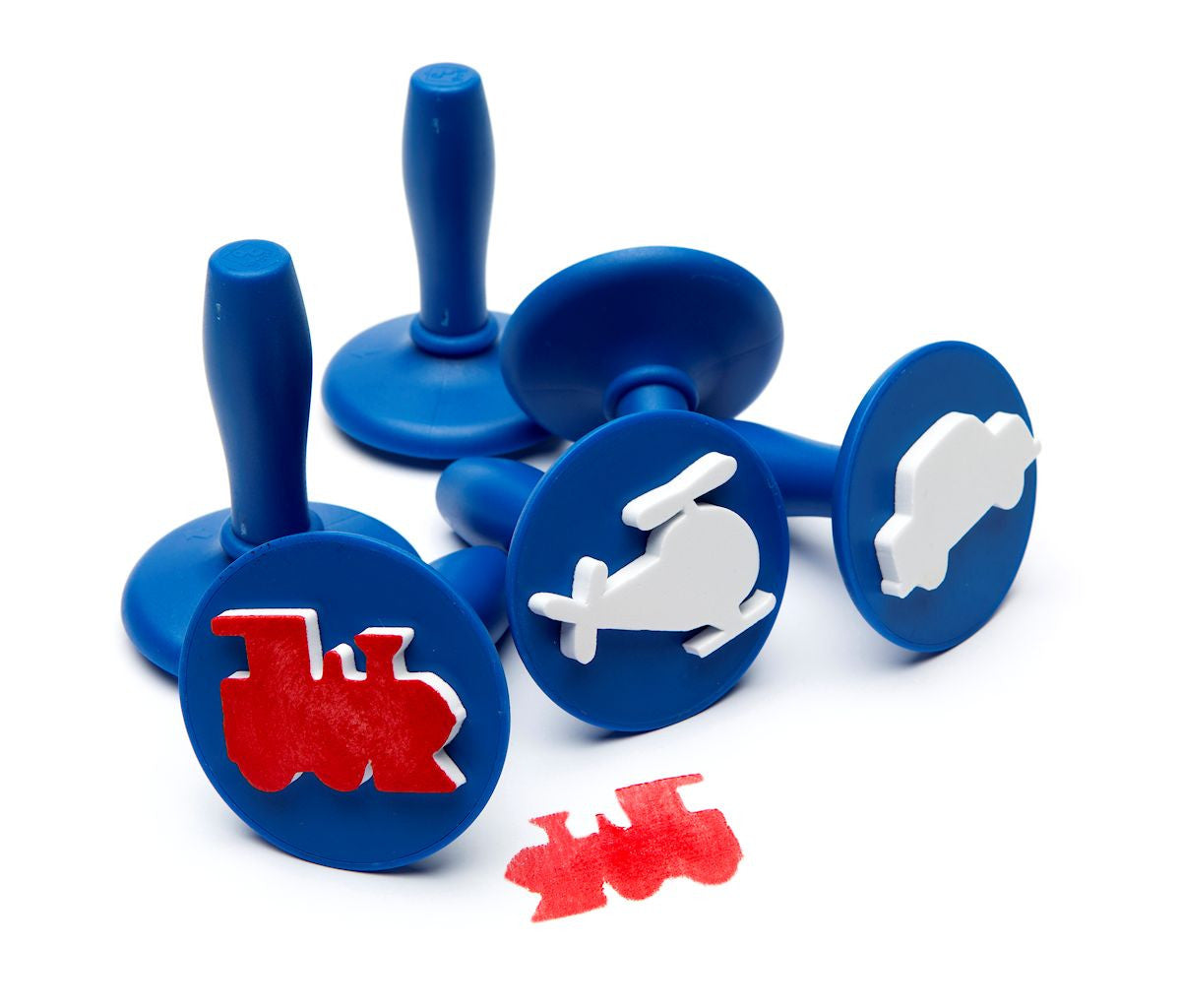 Transport Stampers for Playdough or Paint