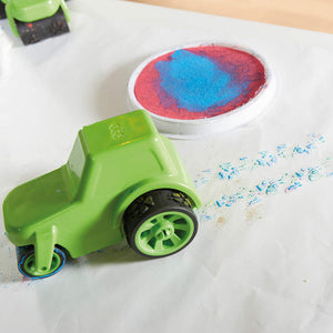 truck in paint