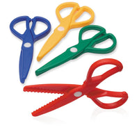 safe plastic playdough scissors