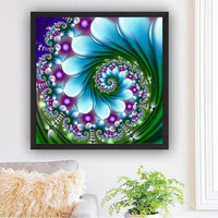 2019 Grosses Soldes Photo Abstrait Mandala - 5D Kit Broderie Diamants/Diamond Painting BQ5007