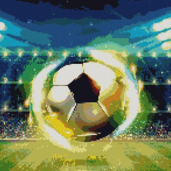 Tableau De Football - 5D Kit Broderie Diamants/Diamond Painting NA0624