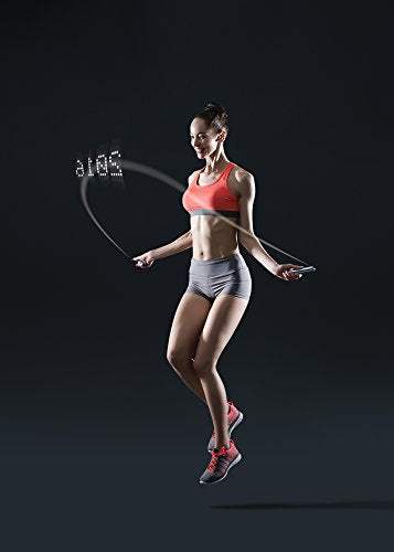 Tangram Factory - Smart Rope - LED Embeded Jump Rope - Displays Progress in Air