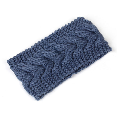 Solid Knitted Wool Headband