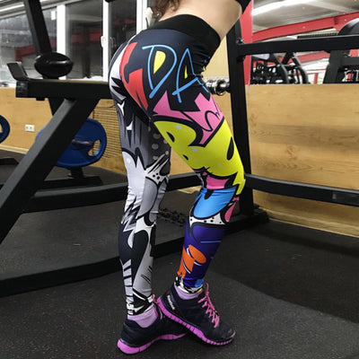 Women Fitness Leggings High Waist