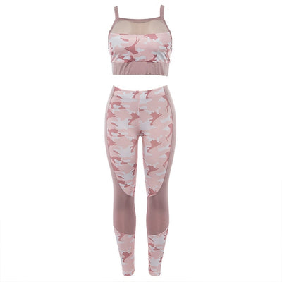 Camouflage Yoga Fitness Suit