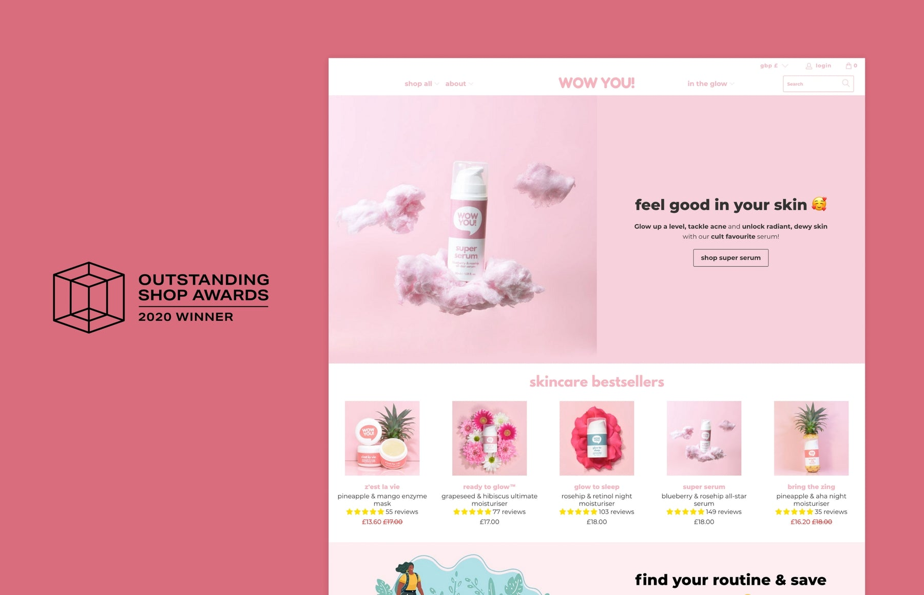 WOW YOU!: Winners of the Outstanding Shop Award for best health and beauty online store