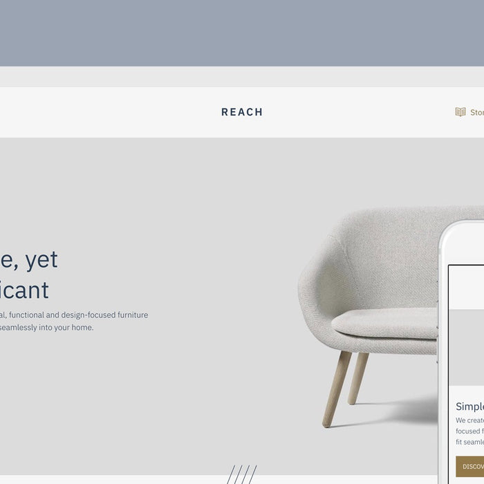 Introducing Reach, a Shopify theme for niche markets