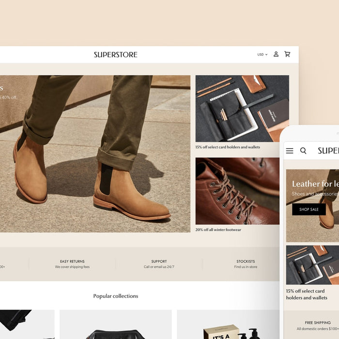 Introducing Superstore: The ultimate wholesale Shopify theme