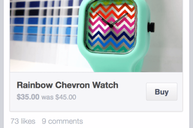 "Facebook ""Buy"" button"
