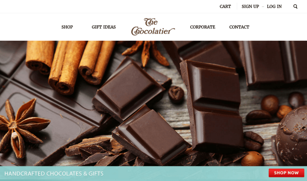 The Chocolatier - Chelsea Bright