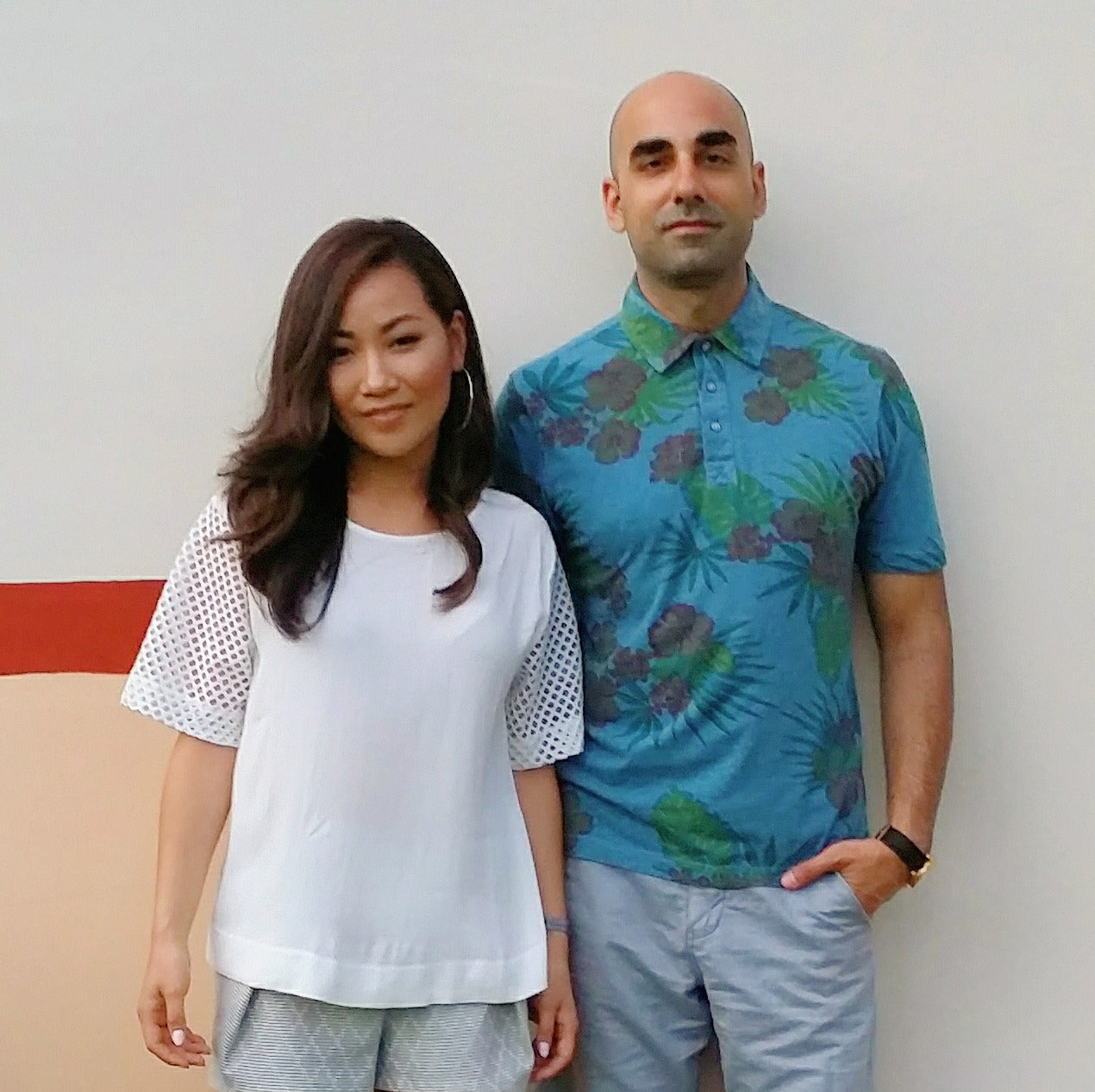 Artifact founders Narae Kim and Elie Nehme
