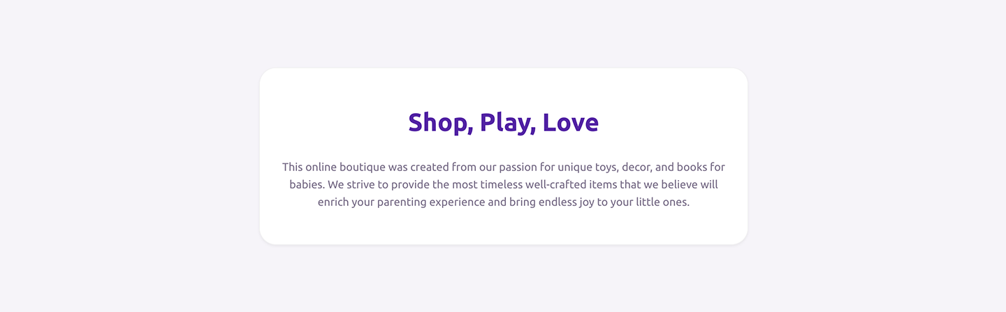 Reach Shopify theme Rich text section