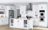 White Shaker Inset Kitchen Cabinets