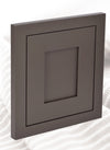 DARK GRAY (DARK GREY) INSET SHAKER KITCHEN CABINETS