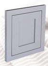 LIGHT GRAY (LIGHT GREY) INSET SHAKER KITCHEN CABINETS