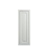 "30"" Tall Wall Cabinet 30"" Tall Vintage White Inset Raised Panel Wall Cabinet - Single Door 9"", 12"", 15"", 18"" & 21"" D5W093014 Inset Kitchen Cabinets"
