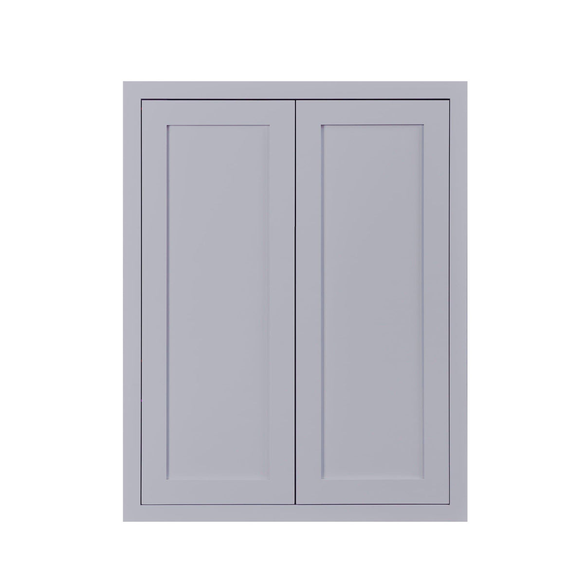 "39"" Tall Wall Cabinet 39"" Tall Light Gray Inset Shaker Wall Cabinet - Double Door -  24"", 27"", 30"", 33"" & 36"" D2W274214 Inset Kitchen Cabinets"