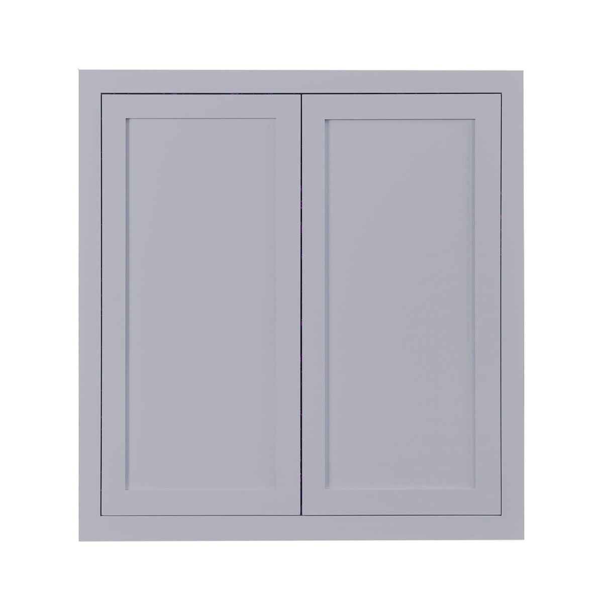 "39"" Tall Wall Cabinet 39"" Tall Light Gray Inset Shaker Wall Cabinet - Double Door -  24"", 27"", 30"", 33"" & 36"" D2W363914 Inset Kitchen Cabinets"