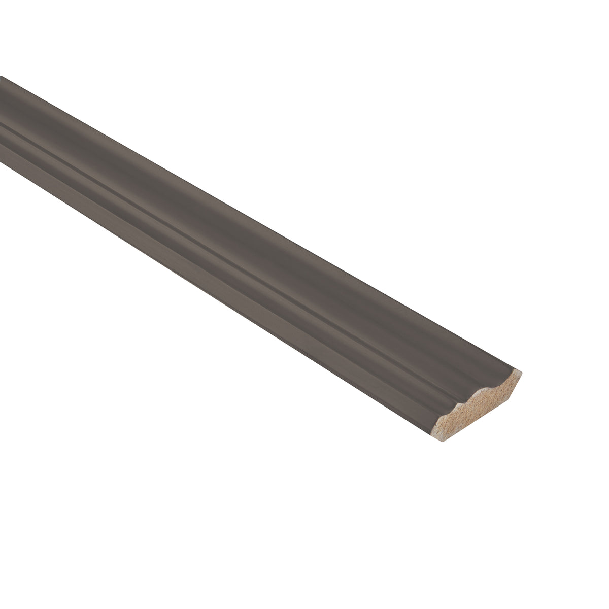 Dark Gray Crown Molding Trim Pieces