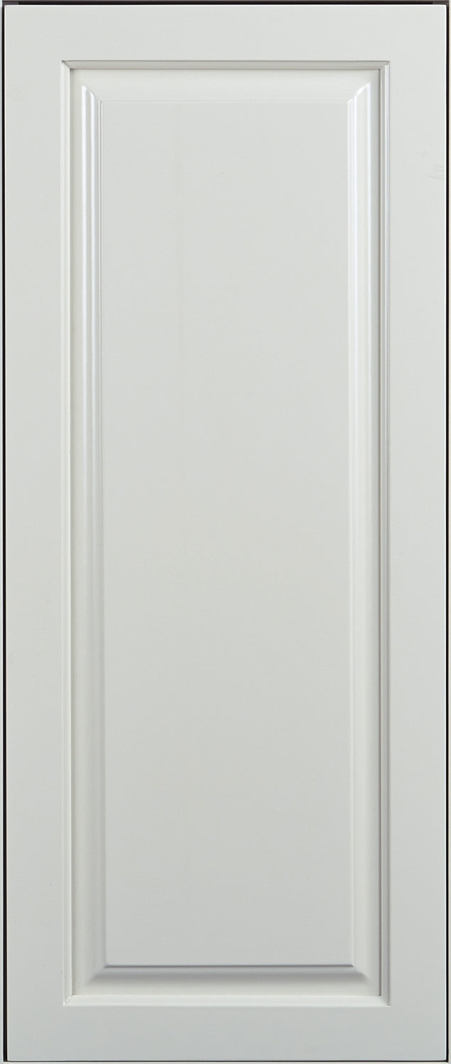 False Door Panel Vintage White Raised Panel Decorative Style