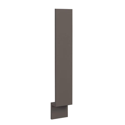 "Accessories Base Cabinet Filler DARK GRAY Inset Shaker - 3"" & 6"" with toe kick DGBF3 Inset Kitchen Cabinets"