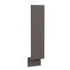 "Accessories Base Cabinet Filler DARK GRAY Inset Shaker - 3"" & 6"" with toe kick Inset Kitchen Cabinets"