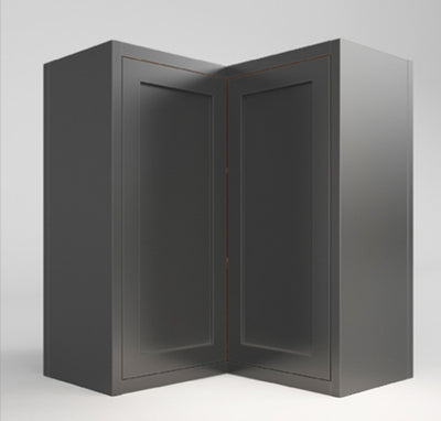 Wall Cabinet Wall Angle Corner Dark Gray Shaker Wall Cabinet Inset Kitchen Cabinets