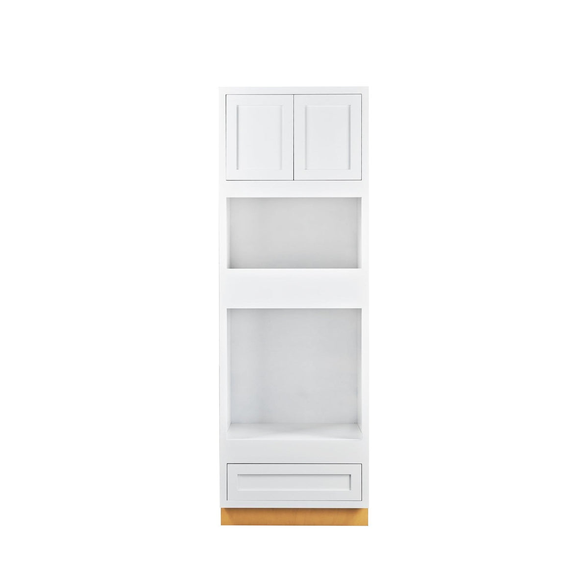 "Wall Oven Cabinet Wall Oven Snow White Inset Shaker Cabinet 31"" Wide D1OC3184 Inset Kitchen Cabinets"