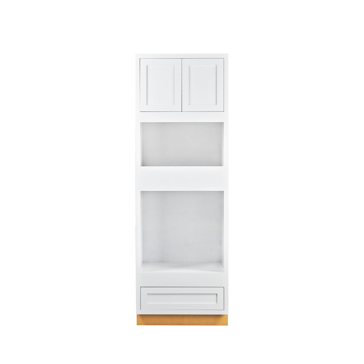 "Wall Oven Cabinet Wall Oven Snow White Inset Shaker Cabinet 31"" Wide D1OC3193 Inset Kitchen Cabinets"
