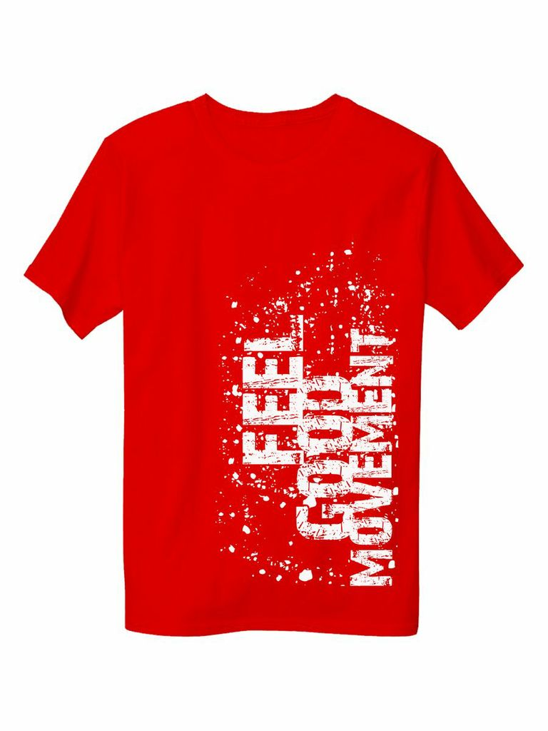 Unconventional Men's T-Shirt in Red