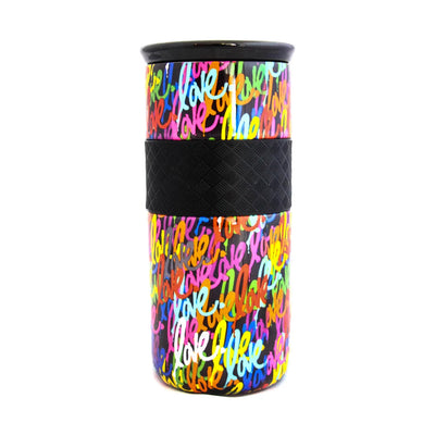 'Love' Tumbler 16oz - Black