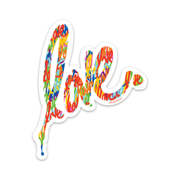 Signature Love Fill Love Sticker