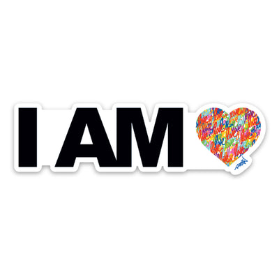 I Am Love Sticker