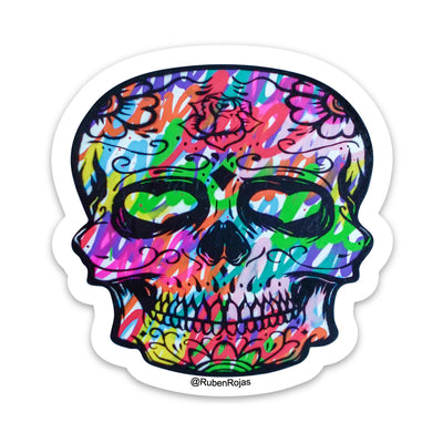 Love Skull Sticker