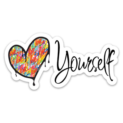 Love Yourself Sticker