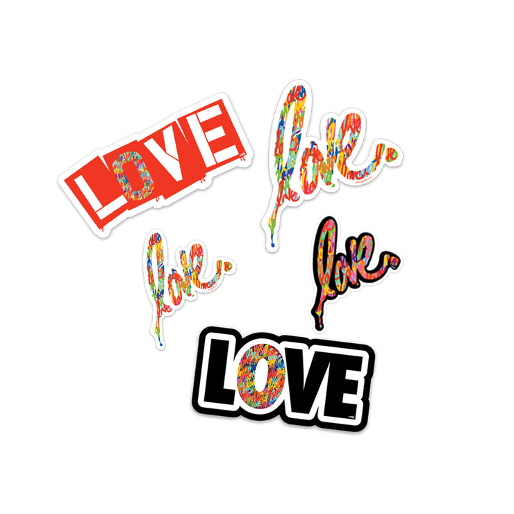 'Love' Sticker Pack