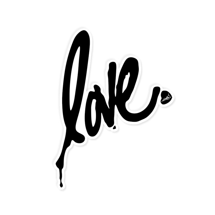 Giant Love Decal