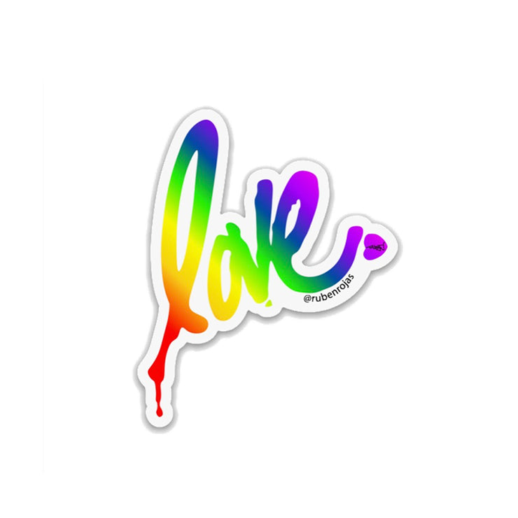 Gradient Love Sticker