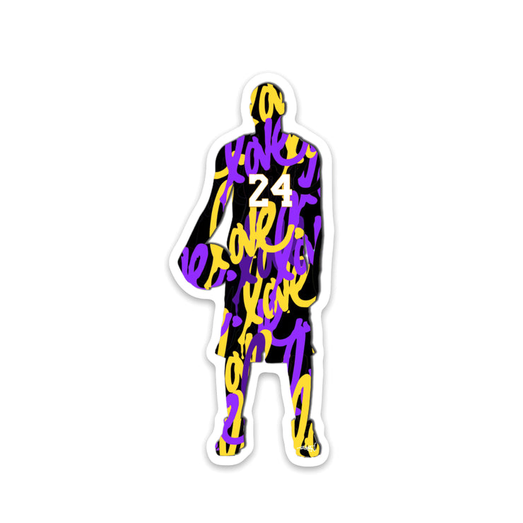 Kobe Love Sticker