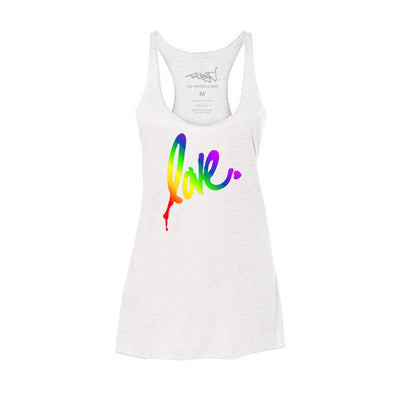 'Gradient Love' Racer Tank