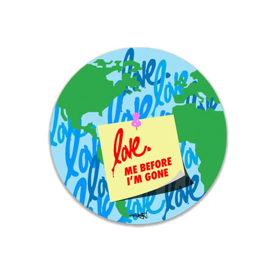 Love Earth Sticker