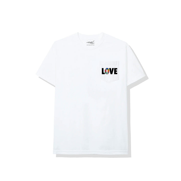 Smiley Face Tee - White