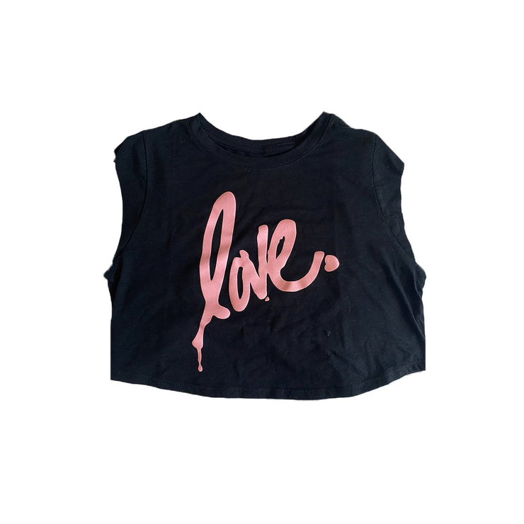 'Love' Crop Top