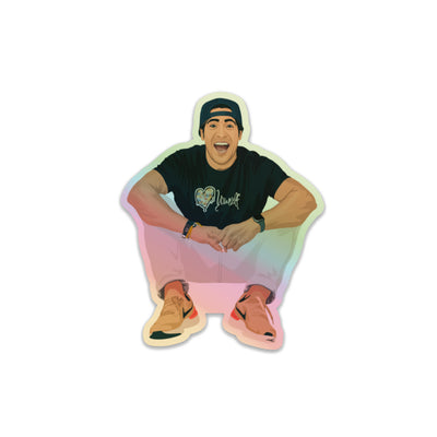 Holographic Ruben Sticker